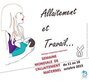"""Rencontre sur le thème """"allaitement et travail"""" à Brioude"""