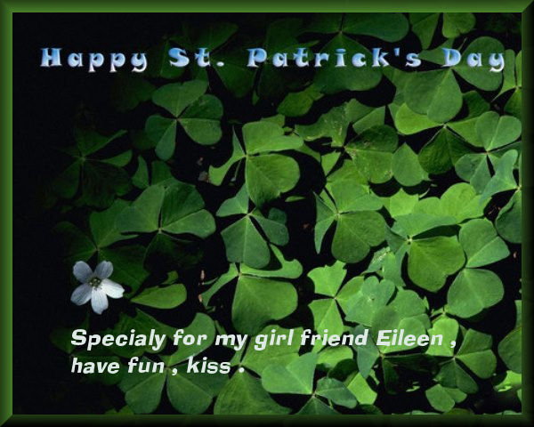 St-Pat for Eileen my friend