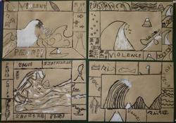 Hokusai... les productions des CM2