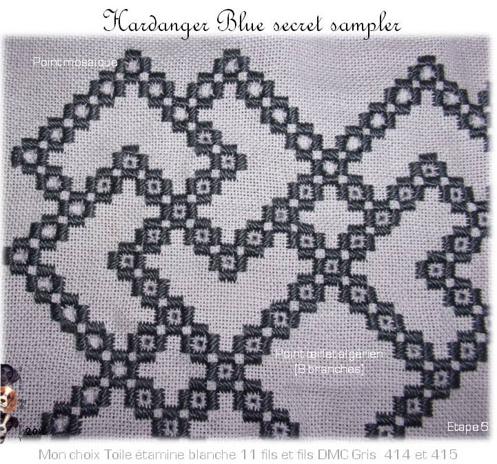 The Blue Secret Hardanger Sampler (7)