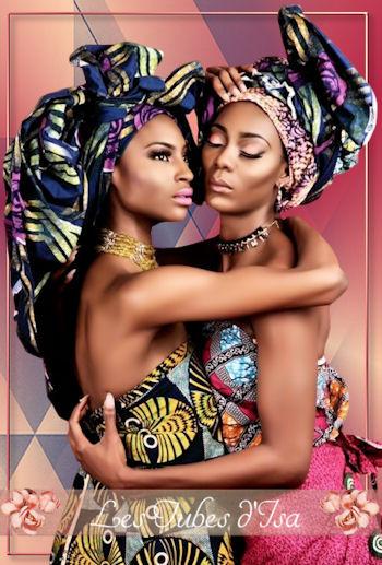 AF0007 - Tube femme africaine