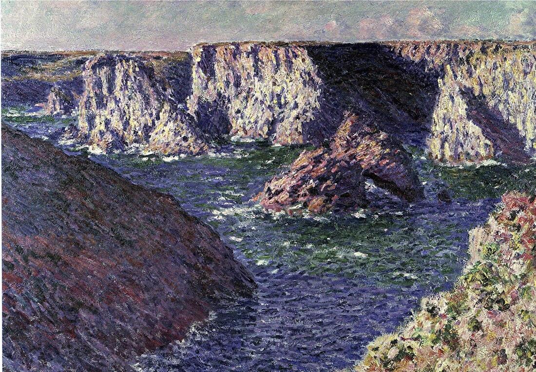 1-1886 /Claude Monet débarque à Belle-île!