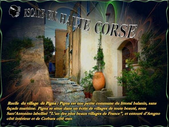 Escale en Haute Corse