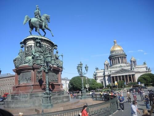 Croisière Russie- N°2- St Petersbourg- jour 1 - Cathédrale St Isaac