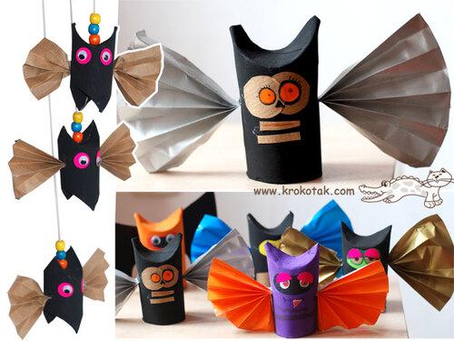 Des chauve-souris d'Halloween