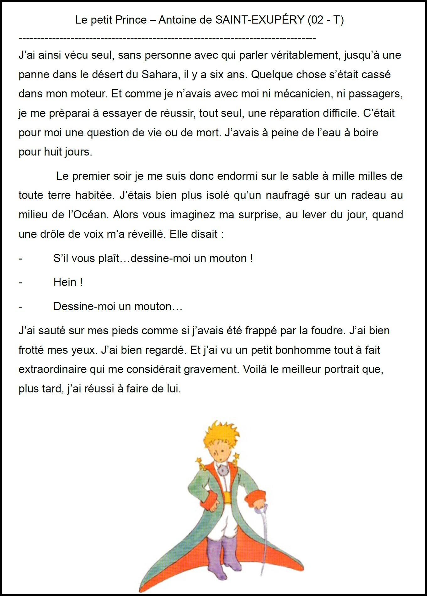 Le Petit Prince Mimiclass