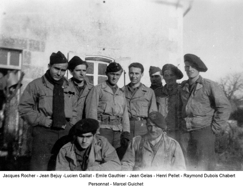 *  Décembre 1944 - Un aller-retour sur le Front de l'Atlantique : les Bataillons de Marche, les Cuirassiers et les Fusiliers Marins