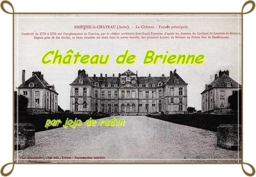 CHÂTEAU DE BRIENNE AUTREMENT