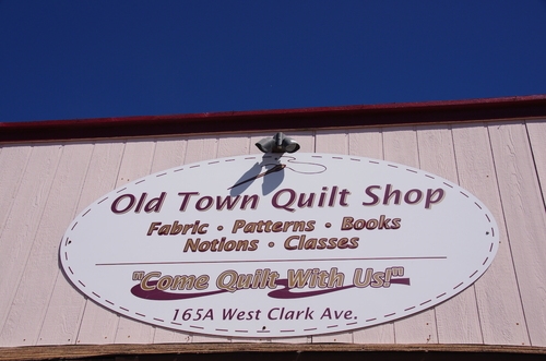 Road trip et quilts shop