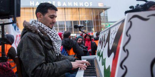 Le pianiste Aeham Ahmad