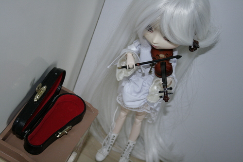 Me and my violin.