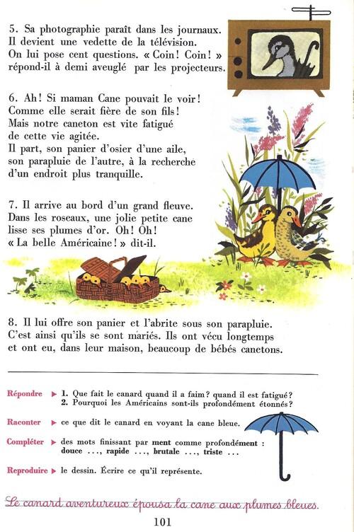 Le canard aventureux