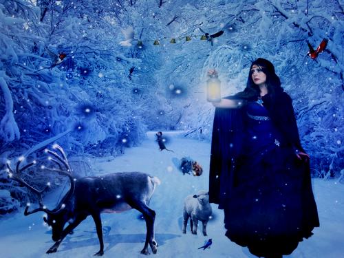 La princesse des neiges (poème / conte)