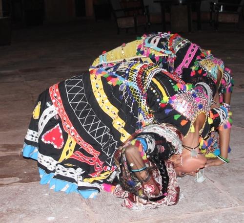Hôtel Gajner Palace (Rajasthan) et danses