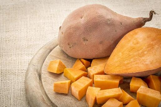 la patate douce participe à l'élimination des toxines