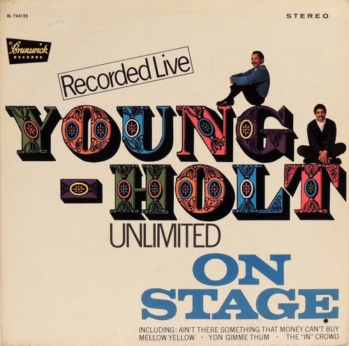"The Young-Holt Unlimited : Album ""  On Stage "" Brunswick Records BL 754125 [ US ]"