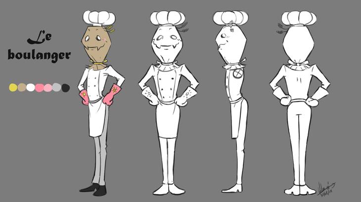 Le boulanger Turn Aournd