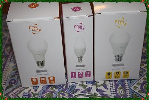 Yes j ' ai reçu mes ampoules !!!