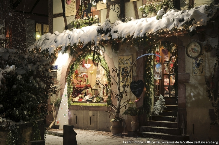 Le marché de Noël de Kaysersberg