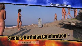 Candid-HD. Sveta's Birthday Celebration.