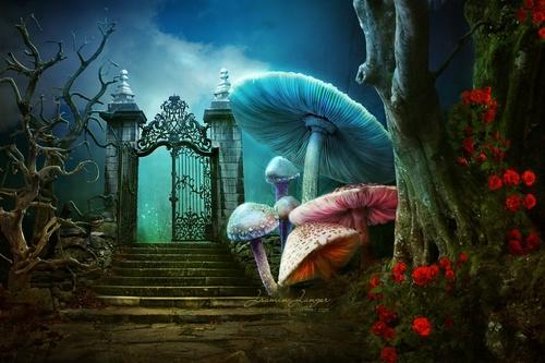Stock Alice in Wonderland