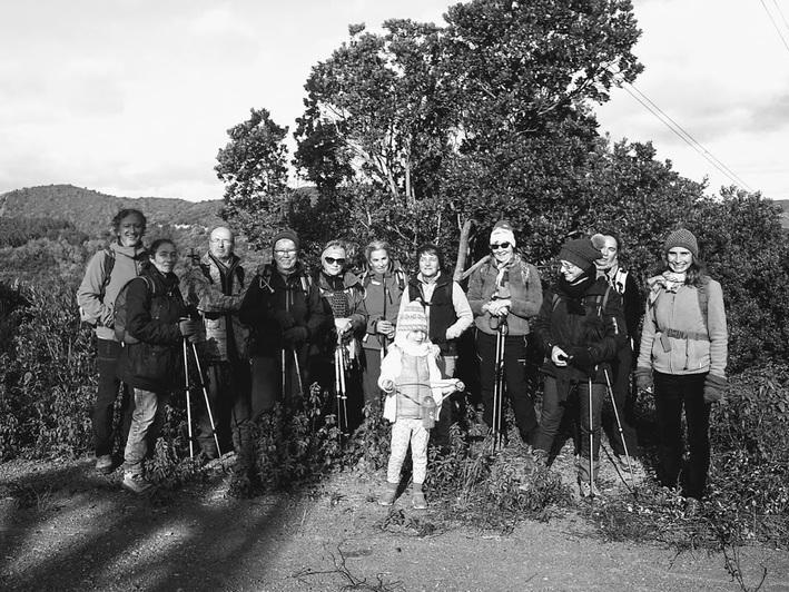 Le Mont Tauch par Maisons (Aude) Club de randonnée des Hautes Corbières