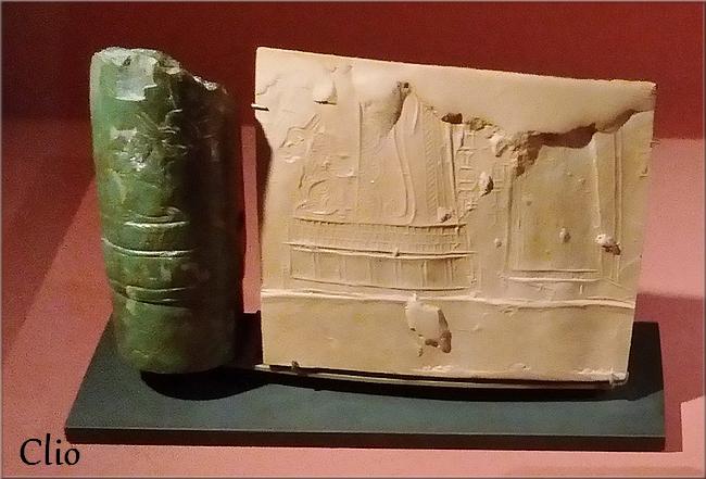 L'écriture cunéiforme, les tablettes et les sceaux-cylindres