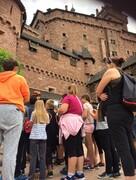 Les CM2 visitent le château du Haut-Koenigsbourg