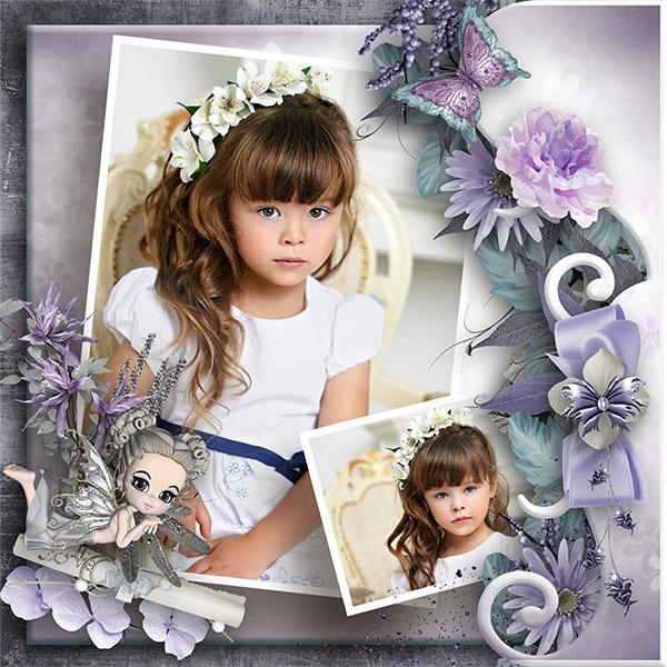 Purple sweetness de Josy Créations et Scrap'Angie