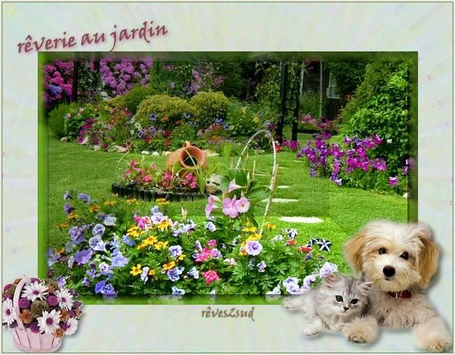 rêverie au jardin