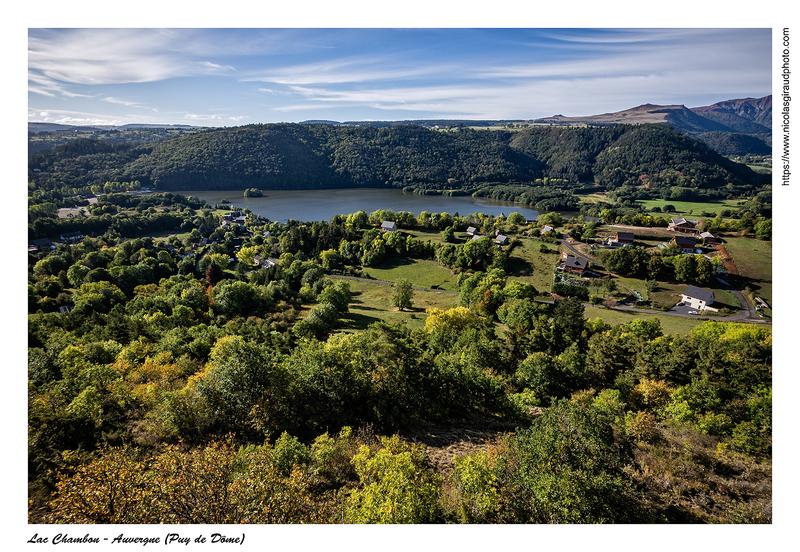 Lac Chambon & Dent du Marais