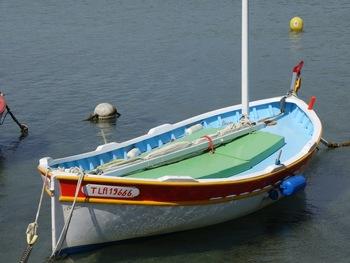 Pointu dans le port du Brusc