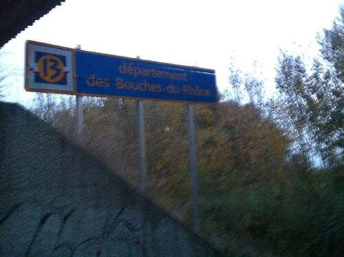 Rhône Autoroute et Dessous - Camargue