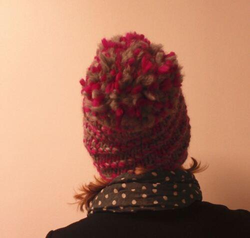 Bonnet en Eskimo de Drops