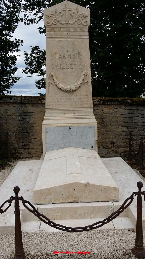 La tombe de Louis Cailletet enfin rénovée !