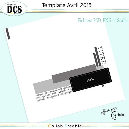 DCS et les templates d'AVRIL