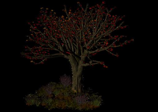 Tubes arbres et végétation