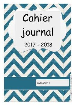 Mon cahier journal