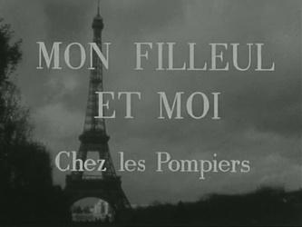 21 septembre 1964 / MON FILLEUL CHEZ LES POMPIERS