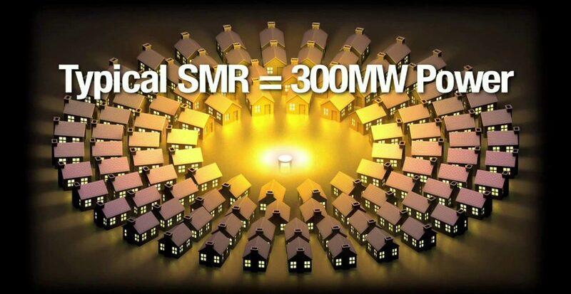 Petit  réacteur modulaire !