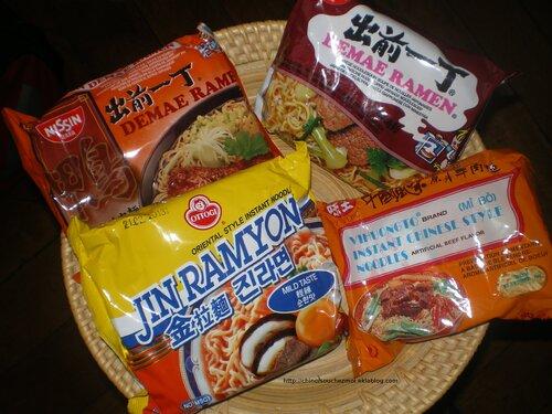 Ready Made 2 : Les nouilles instantanées