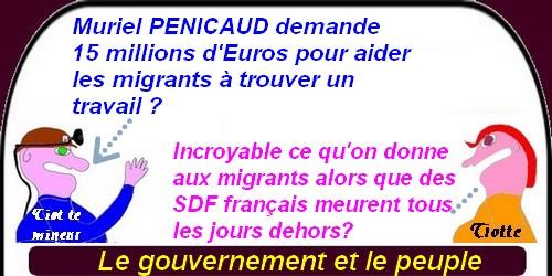 Macron et les G.L avec l'humour du lundi.
