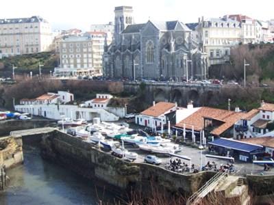 Blog de chipiron : Un chipiron dans les Landes, L'église Sainte-Eugénie de Biarritz