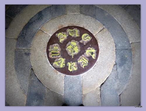 Mandala labyrinthe (Basilique Notre-Dame du Bon secours - Guingamp - Côtes d'armor)
