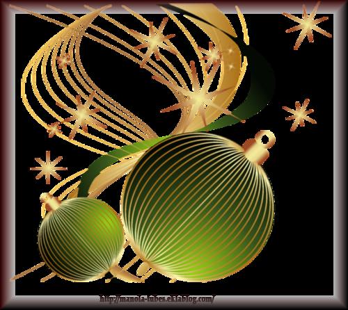 Tube Boule de Noël 2962
