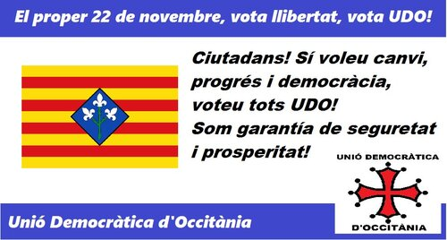 Occitanie/Elections : Offensive de l'UDO