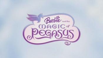 Logo de Barbie et le Cheval Magique