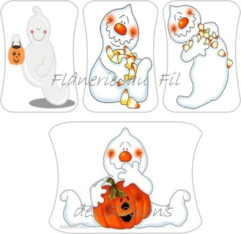 Cartonnettes Halloween Boo Boo !