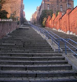 escalier de bueren