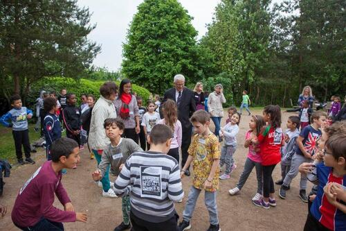 Course solidaire au parc Decesari mai 2018